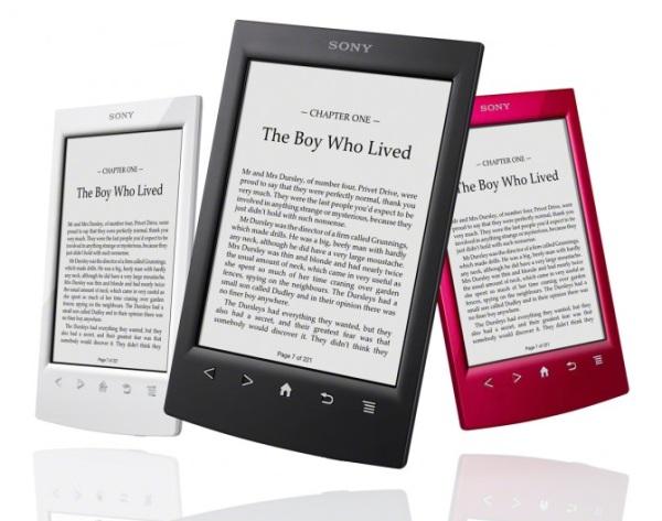 Sony выпустили в продажу читалку PRS-T2