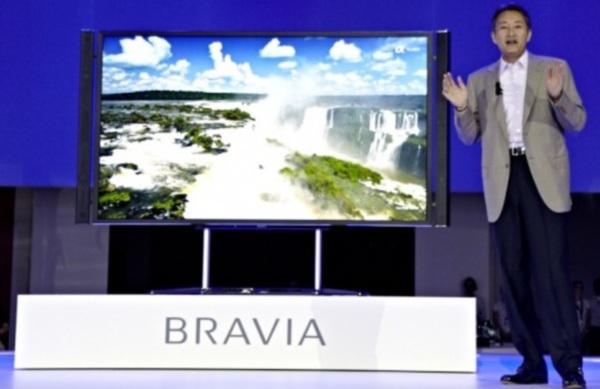 Sony выпустит телевизор с поддержкой 4К к концу года