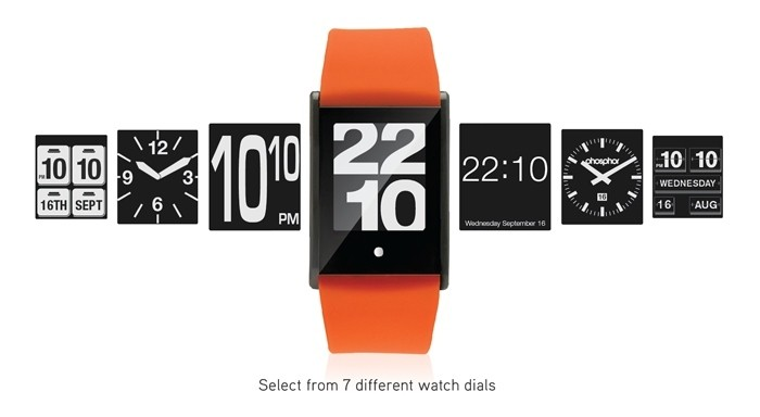 Phosphor Touch Time – часы с сенсорным LCD-дисплеем