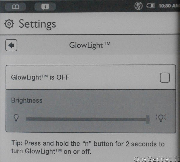Обзор читалки Nook Simple Touch with GlowLight