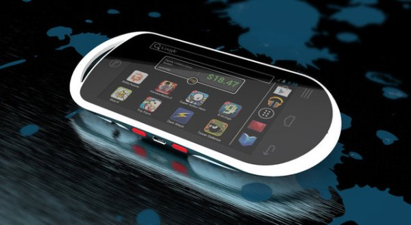 Портативная игровая консоль на Android только для детей