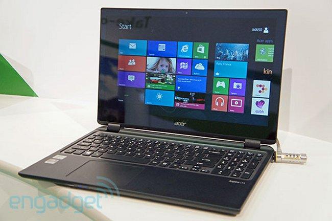 Acer Aspire M3 и V5 – ультрабуки с тачскринами