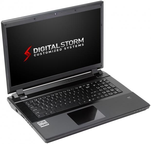Игровой лэптоп X17E от Digital Storm – очередной рекордсмен скорости