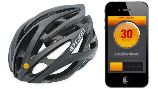 Велосипедный шлем с датчиком ICEdot вызовет помощь в случае ДТП