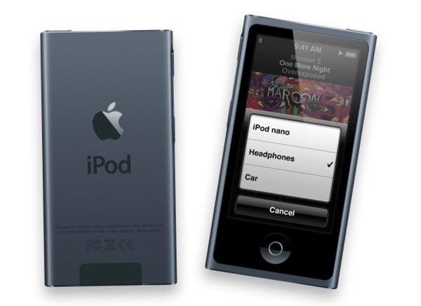 iPod Nano вновь получит настоящие кнопки