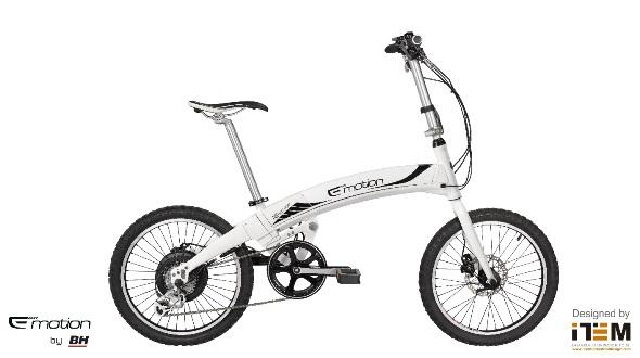 Складной электрический велосипед Neo Volt со съемным аккумулятором