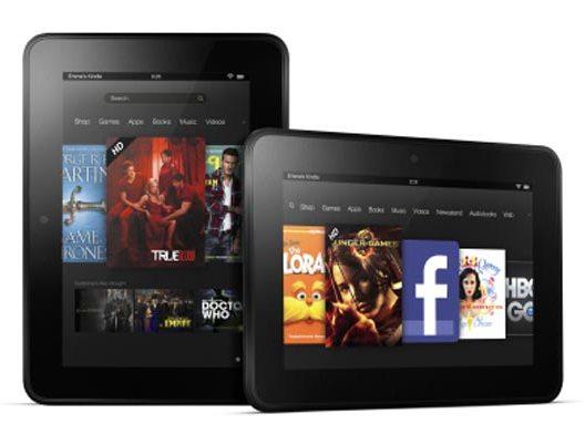 Amazon представили новые планшетники