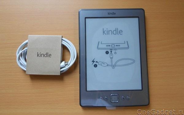 Обзор читалки Amazon Kindle 4