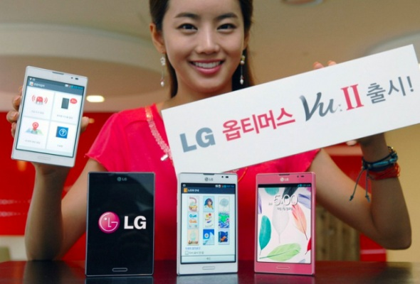 Анонсировано второе поколение смартфона-планшетника LG Optimus Vu