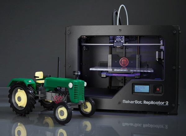 MakerBot Replicator 2 – еще один шаг к мейнстримным 3D-принтерам