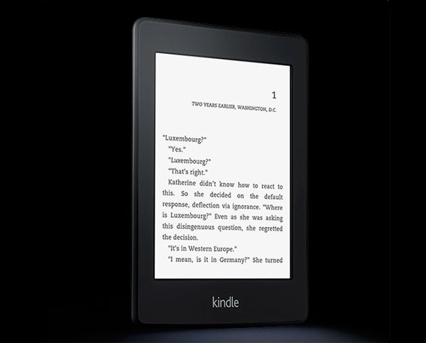 Новое поколение читалок от Amazon – Kindle Paperwhite