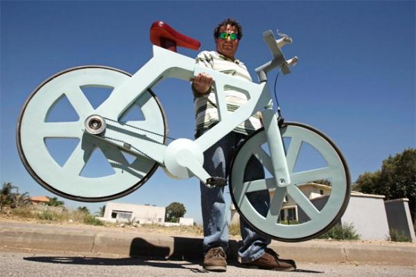 Картонный велосипед появится в продаже в течение года
