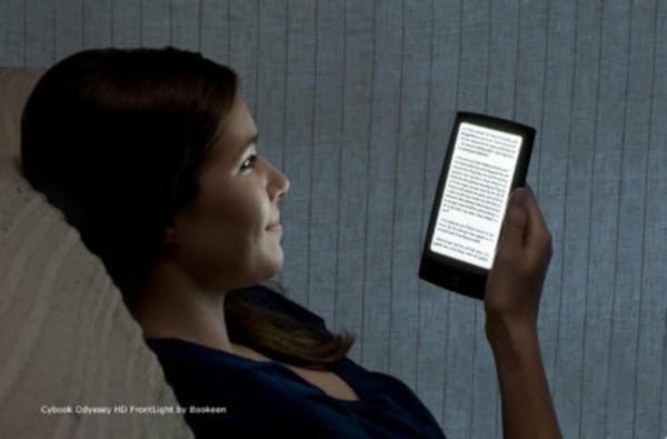 Читалка Cybook Odyssey HD со встроенной подсветкой выйдет в ноябре