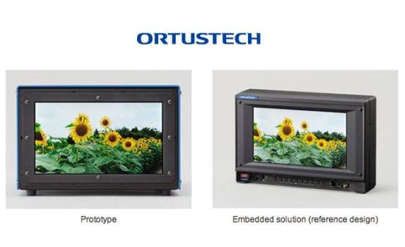 Ortustech представили самый маленький в мире 4К-дисплей