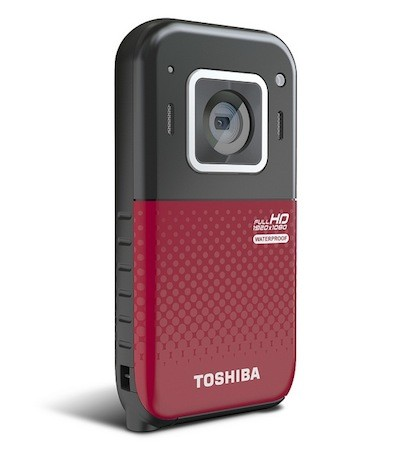 Toshiba представляет компактную водонепроницаемую видеокамеру Camileo BW20