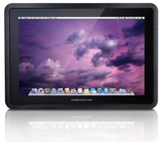 ModBook Pro добавили оперативной памяти, увеличили объем накопителя и чувствительность стилуса