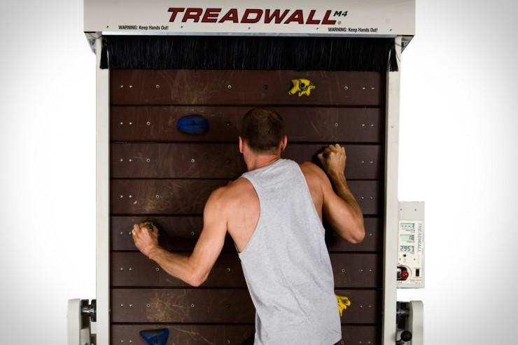 TreadWall – беговая дорожка для скалолазов