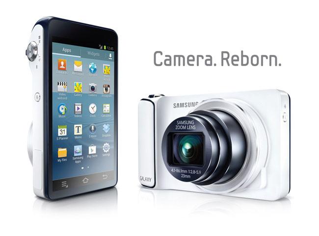 Камеру Samsung Galaxy Camera представят 8 ноября