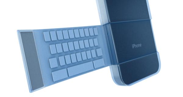 Fliptype – «полуаппаратная» клавиатура для iPhone