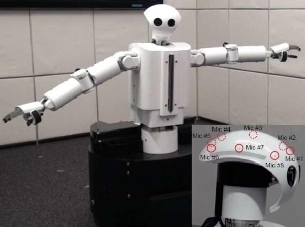 HEARBO - слышащий робот из Японии