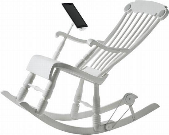 iRock – кресло-качалка для iДевайсов