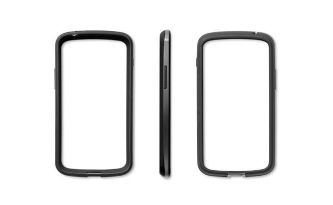 Официальная защитная оболочка для Nexus 4 от LG