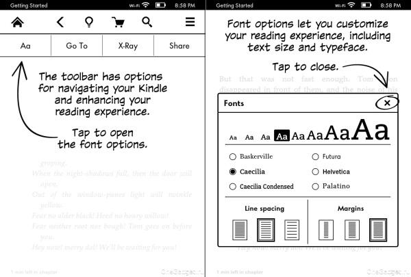 Обзор читалки Amazon Kindle Paperwhite