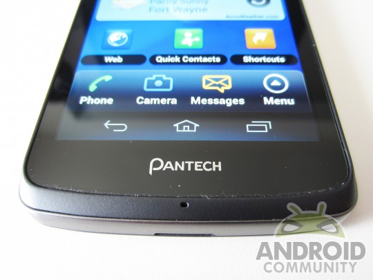 Pantech Vega – Android-смартфон с 1080p-дисплеем