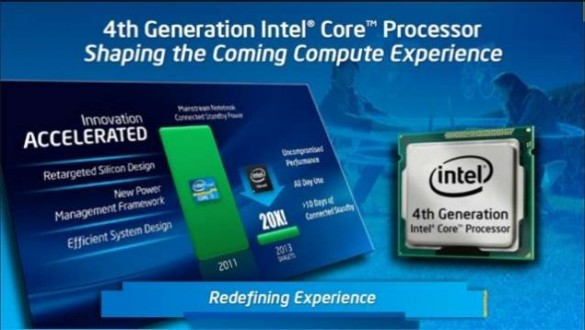 Появились новые данные о процессорах следующего поколения Intel Haswell