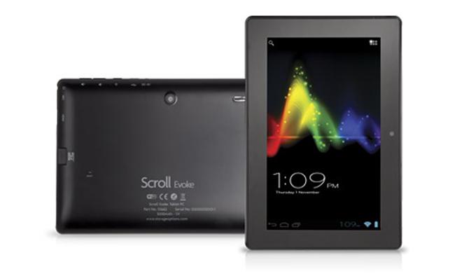 Storage Options Scroll Evoke 7 – британский планшетник за 120 фунтов стерлингов
