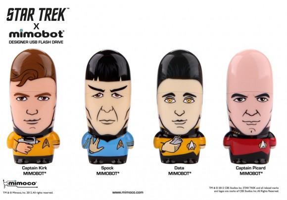 Mimoco представляет флешки Mimobot в стилистике Star Trek