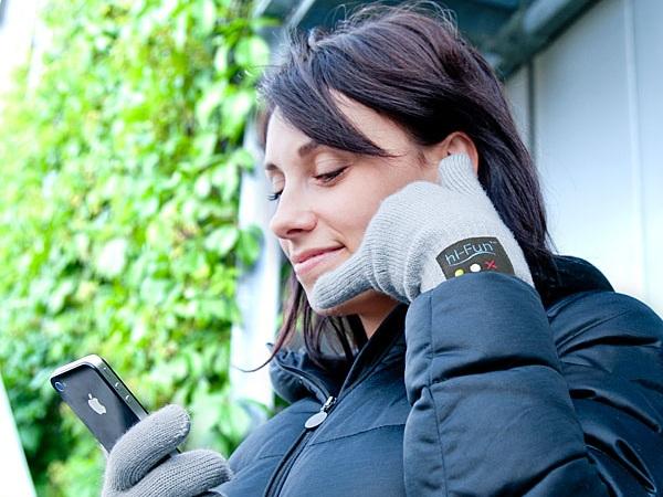 Перчатки-гарнитура от ThinkGeek