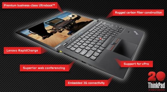 Lenovo анонсировали ультрабук из углеродного волокна под Windows 8