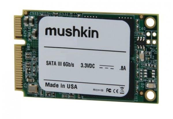 Первый в мире mSATA SSD объемом 480 гигабайт