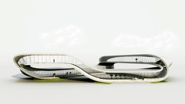 Голландский архитектор построит ландшафтный дом посредством 3D-печати