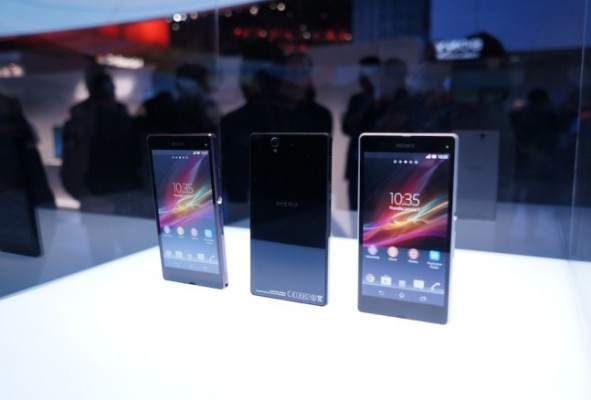 Sony Xperia Z поступит в продажу 18 февраля?
