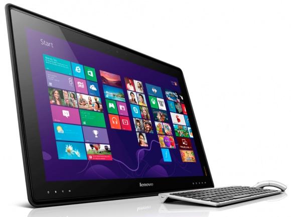 Lenovo представили огромный игровой настольный планшетный компьютер
