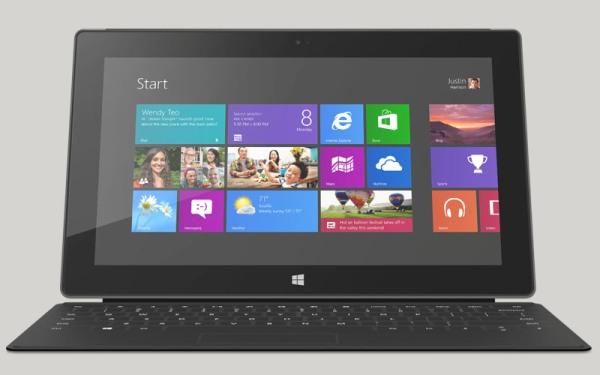 Microsoft Surface Pro 64GB будет иметь всего 23 гигабайта свободного пространства