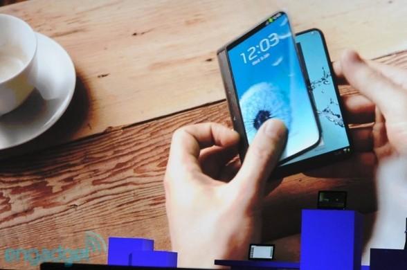 Samsung показали гибкие дисплеи Youm