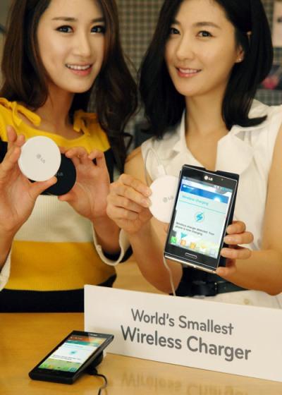 LG представили самое маленькое в мире беспроводное зарядное устройство