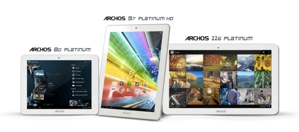 Планшетники ARCHOS Platinum - «убийцы» iPad и Kindle Fire HD?