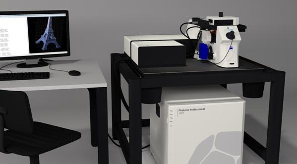 Крошечный космический корабль, созданный с помощью 3D-принтера