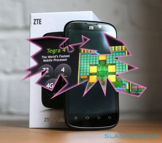 ZTE анонсировали первый в мире «суперфон» с Tegra 4