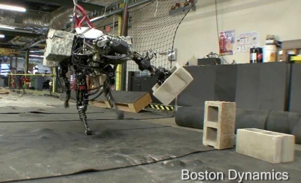 Робот BigDog обзавелся новой способностью