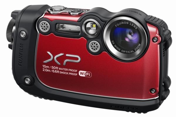 Суперзащищенный фотоаппарат Fuji FinePix XP200 с Wi-Fi