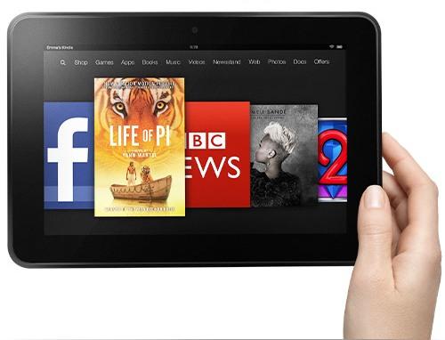 Kindle Fire HD поступил в продажу в Европе и подешевел в США