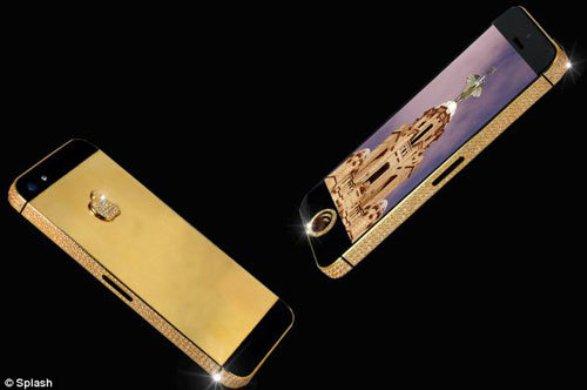 Самый дорогой мобильный телефон в мире отправили заказчику в Китай