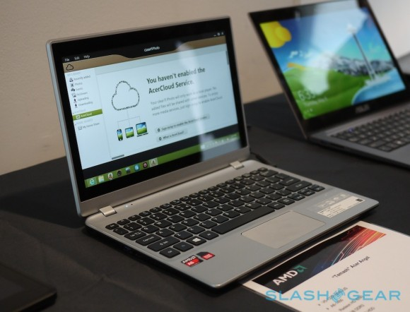 AMD анонсировали чип Temash для мощных планшетников и гибридов