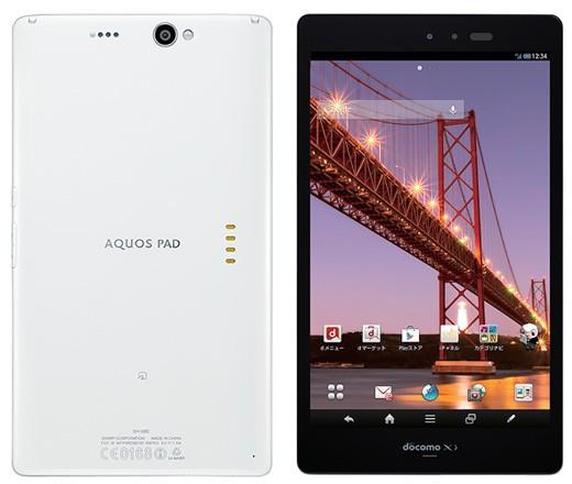 7-дюймовый водонепроницаемый планшетник с IGZO-дисплеем от Sharp