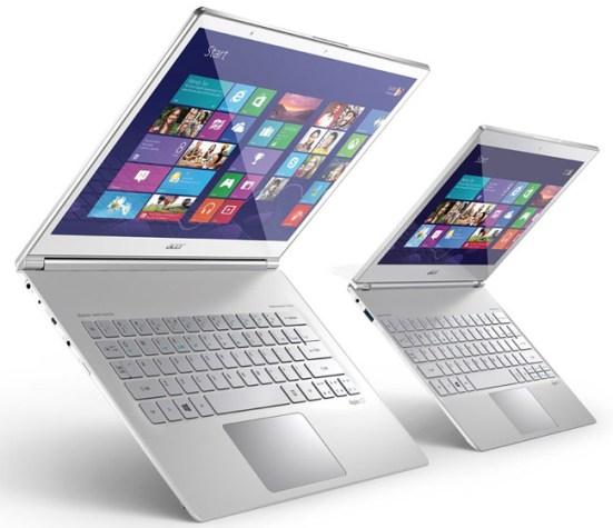 Acer представили тихий флагманский ультрабук Aspire S7